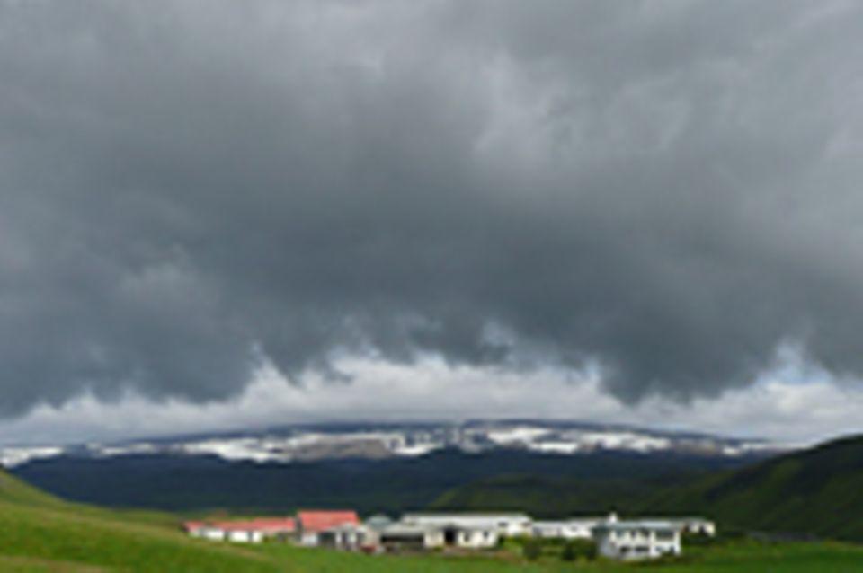 Island, Leben auf dem Pulverfass