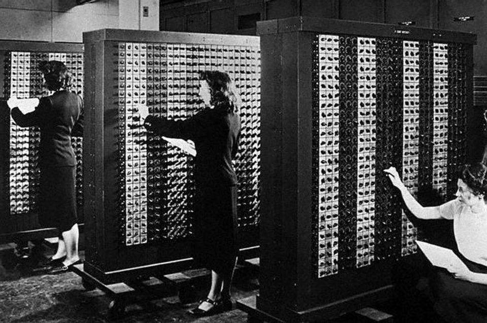 Rekorde und Co. – Computer: ENIAC - eines der ersten Computersysteme