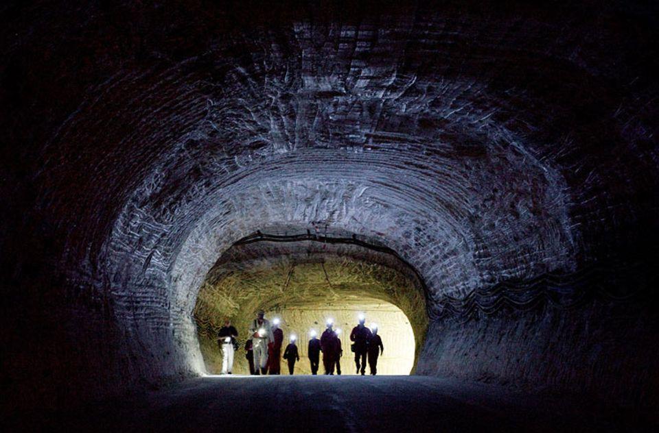 Endlager: 840 Meter unter Tage befindet sich die Erkundungssohle des Salzstocks Gorleben