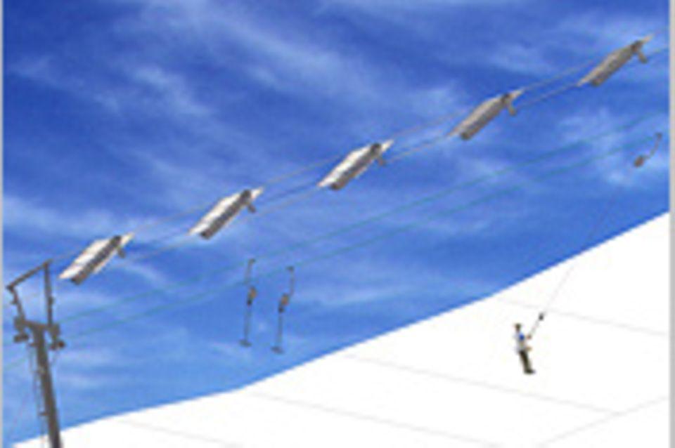 Solarlift: Solarlift: 120 Höhenmeter mit der Kraft der Sonne