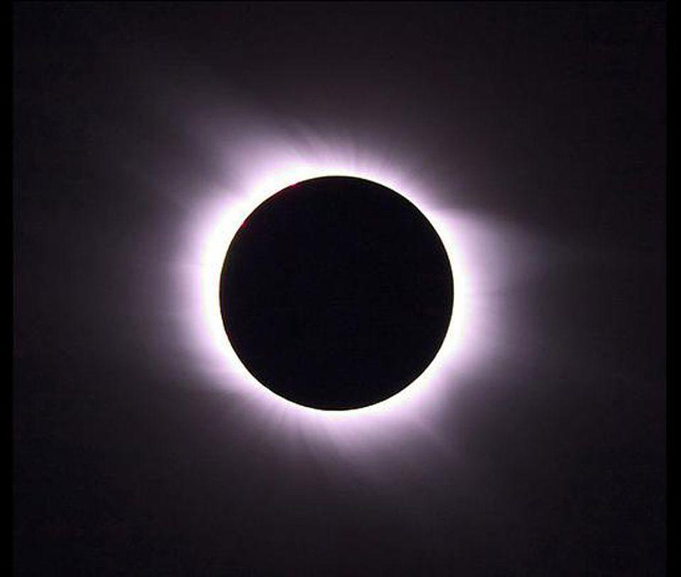 Faszinierende Sonnenfinsternis