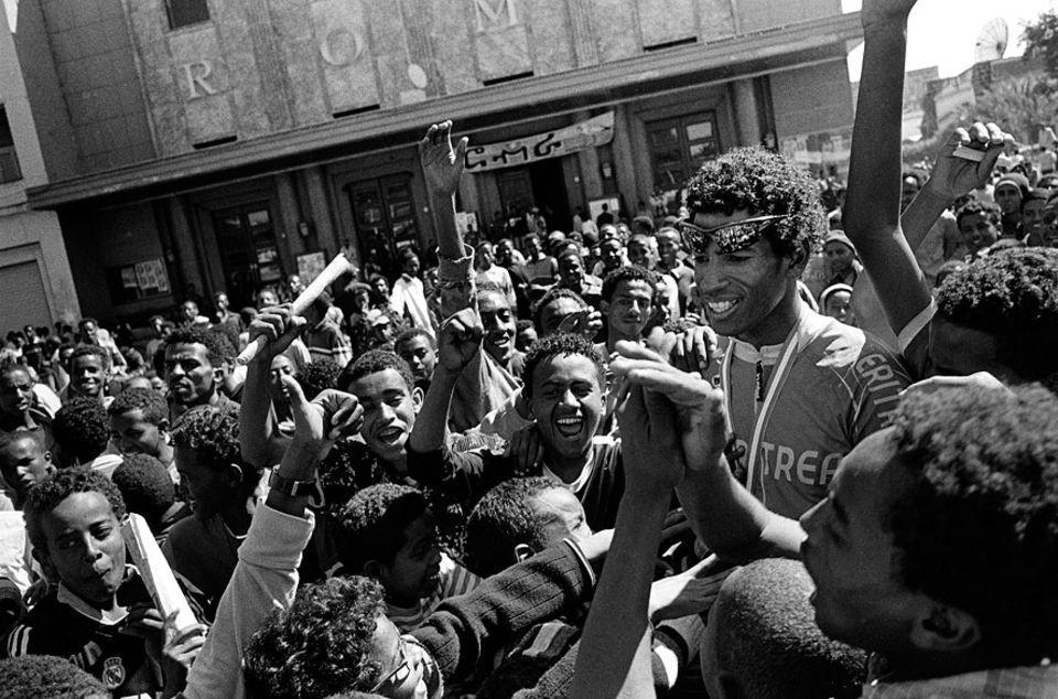 Tour of Eritrea: Glückliches Finale: Daniel Teklehaymanot ist Zweiter geworden, unter die ersten 14 schaffte es nur ein Ausländer