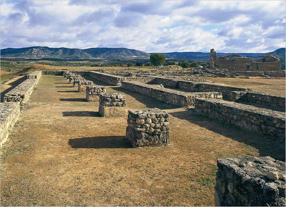 Im Park Recópolis können die Besucher eine Zeitreise ins Mittelalter unternehmen