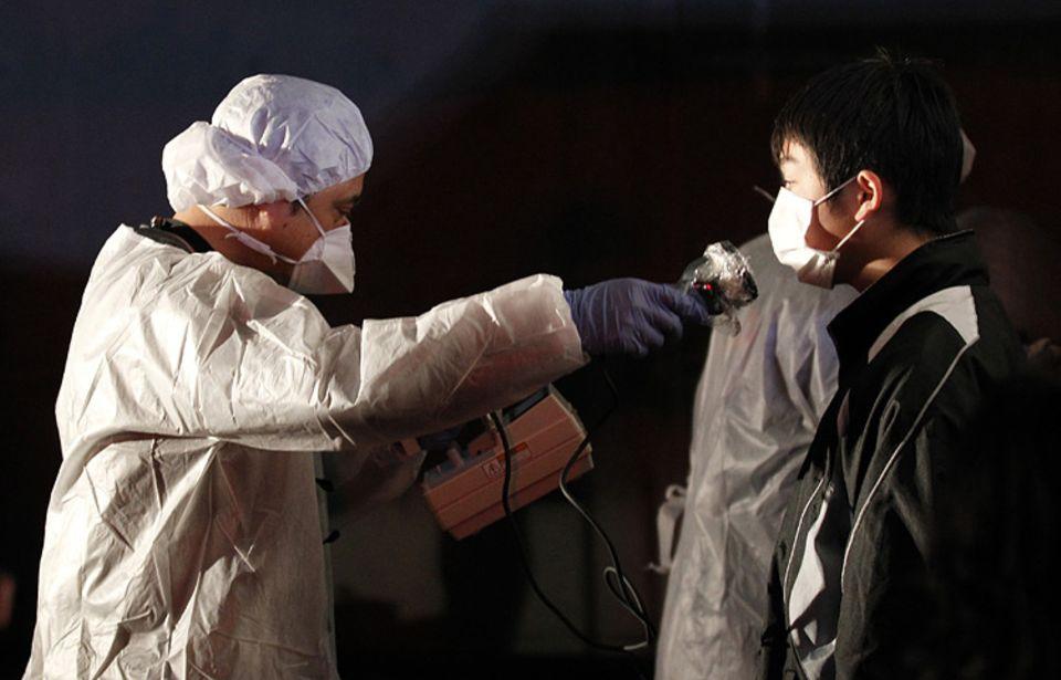 Tsunami in Japan: Die Gefahr durch radioaktive Strahlung ist unsichtbar, aber konkret