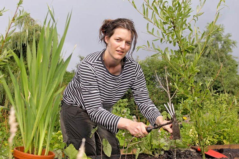 Urban gardening: Verbindet den Spaß am Gärtnern mit ihrem Interesse an unterschiedlichen Kulturen: Nina-Sophie Eicks