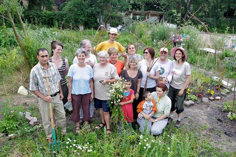 Urban gardening: Städtisches Gärtnern mit Gemeinsinn liegt im Trend. Der Interkulturelle Garten in Wilhelmsburg ist darüber hinaus ein Integrationsangebot