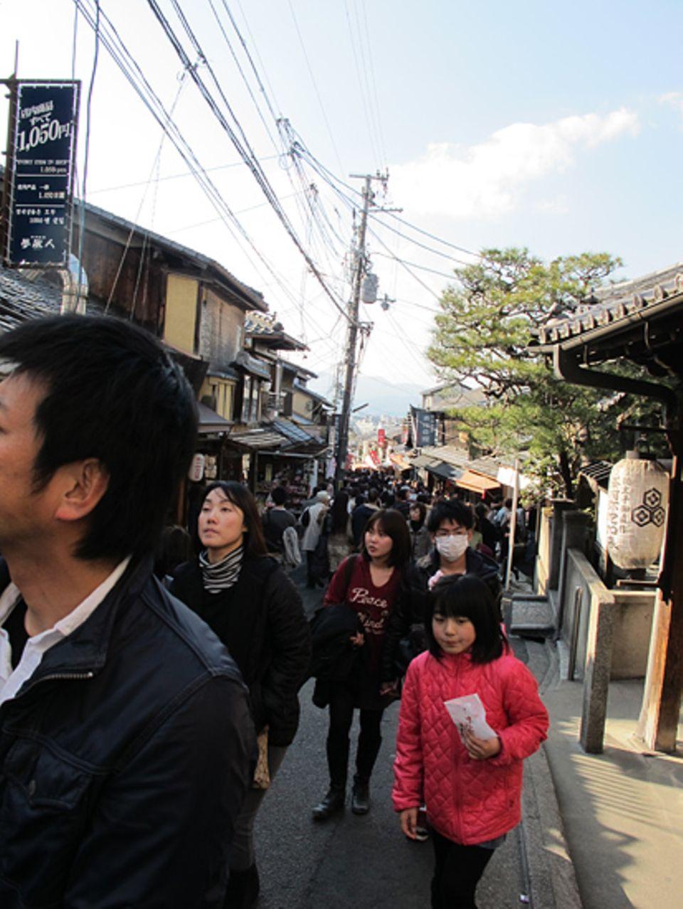 Japan: Die Japaner versuchen den Alltag wie gewohnt weiter zu leben
