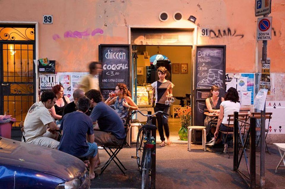 Rom: Im Szeneviertel Pigneto schafft sich die Jugend ein modernes und buntes Rom. Ein wenig neapolitanische Altstadt, ein bisschen Prenzlauer Berg