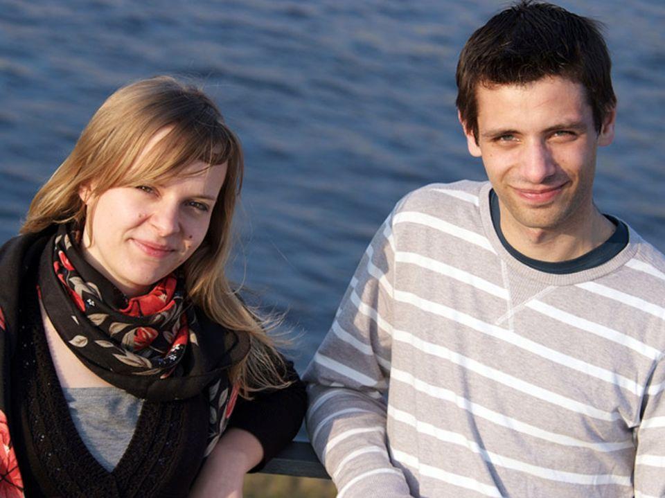 Mitgestalten: Die beiden UN-Jugenddelegierten Heidrun Fritze und Andreas Deutinger