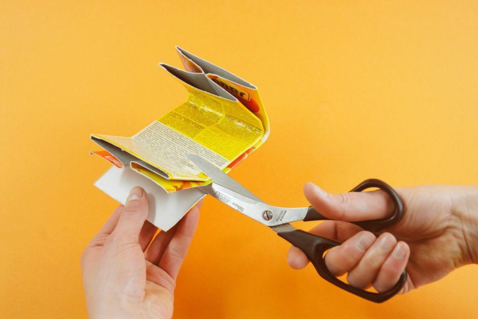 Basteltipp: Geldbörsen aus Karton