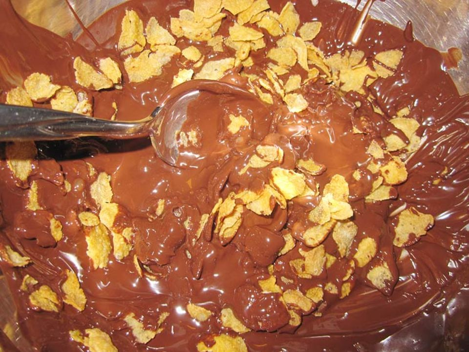 Kochtipp: Schokoladenknusper gibt es noch dazu