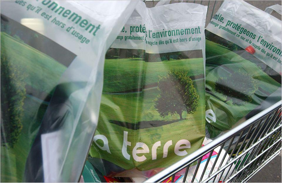 Kompostierbare Tüten werden in immer mehr Supermärkten in der EU angeboten