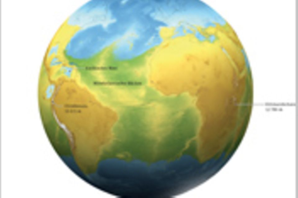 Weltspiel: Ungedrehter Planet