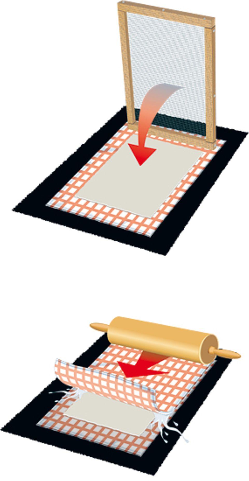 Bastelanleitung: Papier selber machen