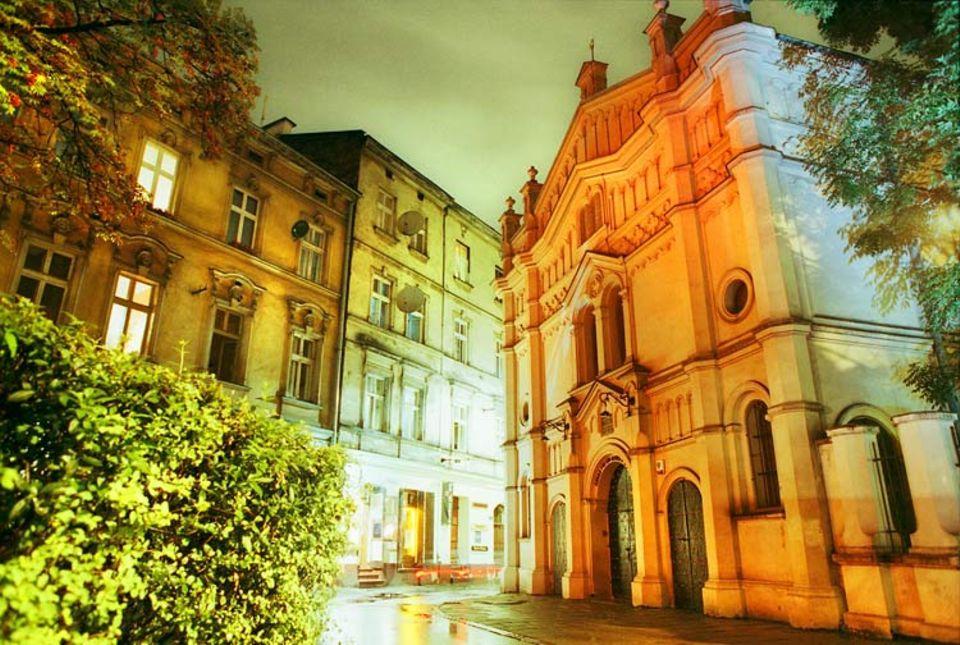 Städtereise: Heilige Hallen: Die Tempel-Synagoge aus dem 19. Jahrhundert ist die jüngste und schönste unter den sieben Synagogen im Viertel Kazimierz