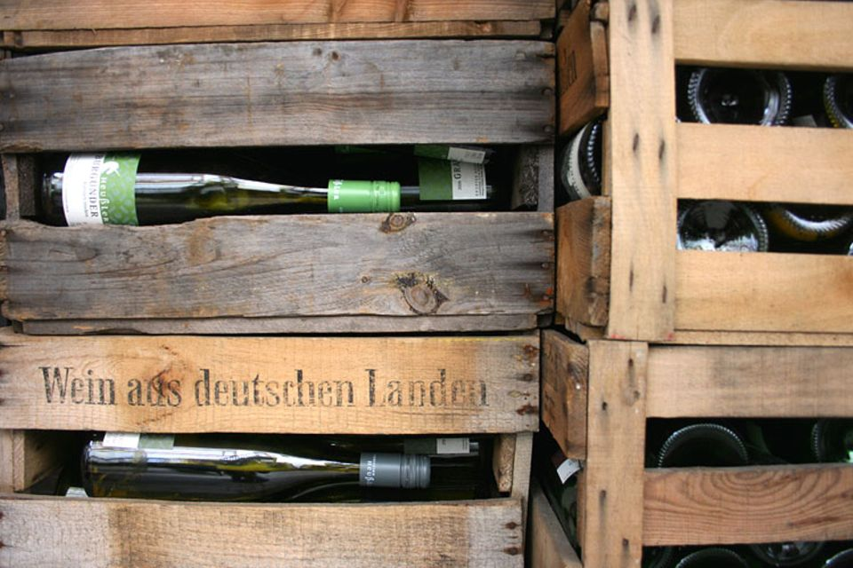Naturtalente: Vor allem Riesling und Grauburgunder gedeihen auf dem Rosswingert, dem Pferde-Weinberg