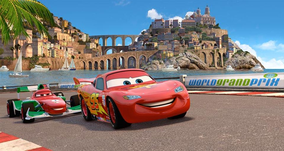 Lightning McQueen gibt Gas!