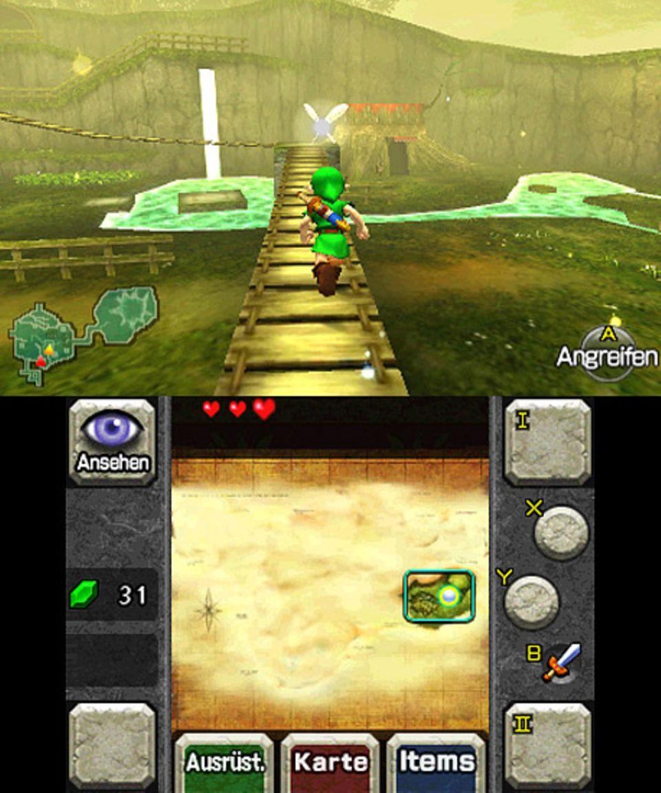 "Spieletest: Zeldas ""Ocarina of Time"""