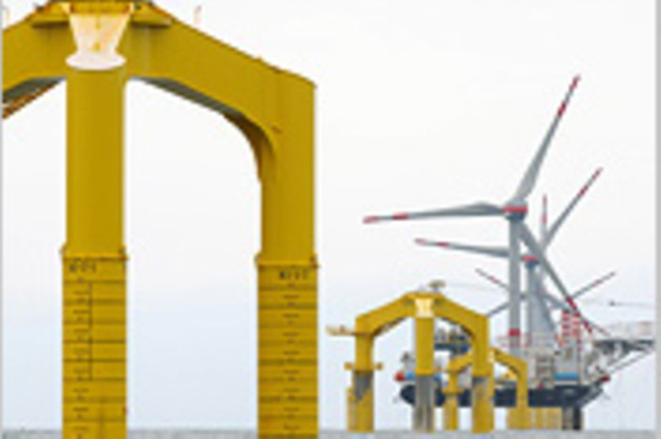 Windkraft: Unterwasser-Baulärm: Knall auf Fall