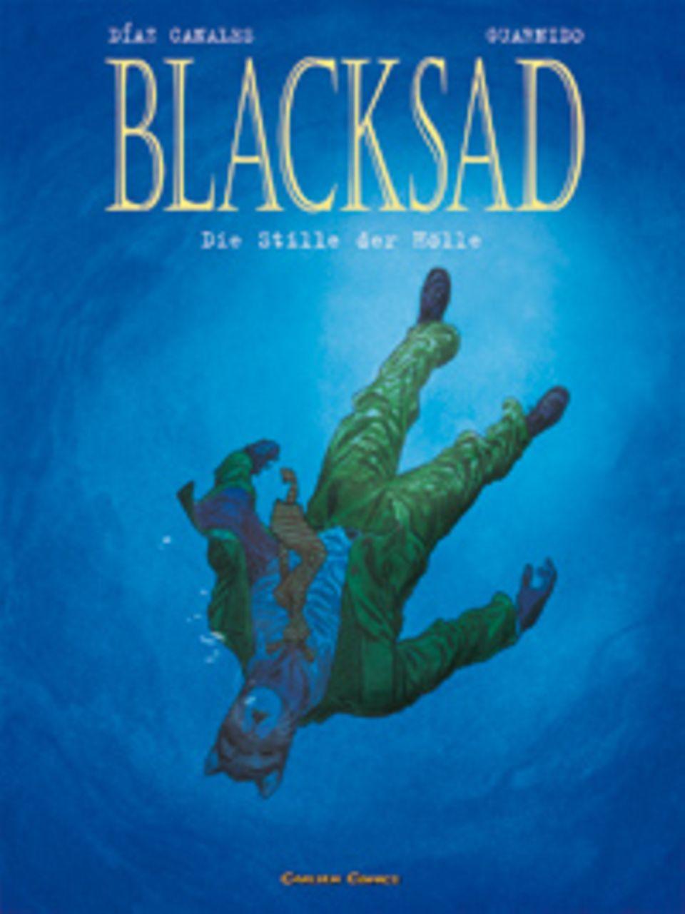 """Buchtipp: Das Buchcover zu """"Blacksad. Die Stille der Hölle"""""""