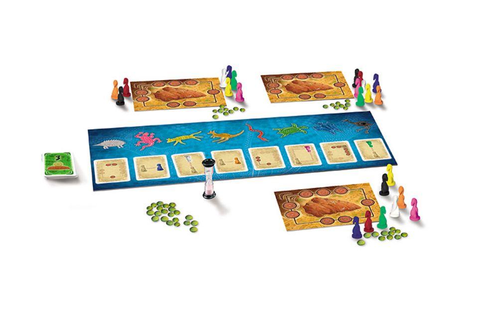Spieletest: Das Knobelspiel Uluru