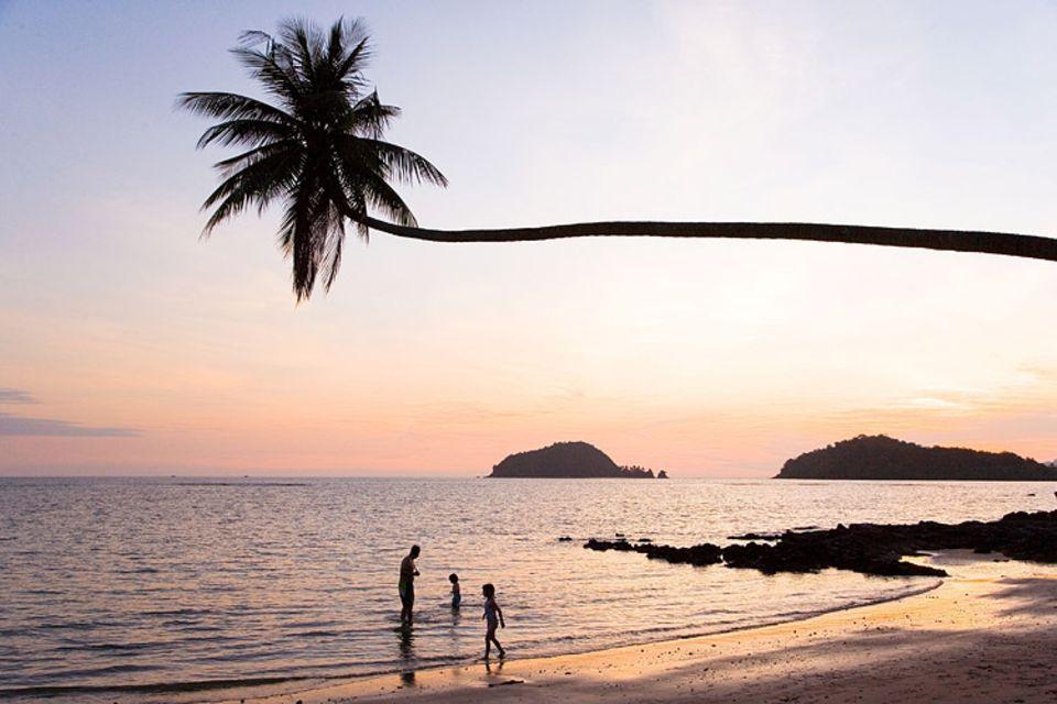 Sonnenuntergang auf Koh Mak