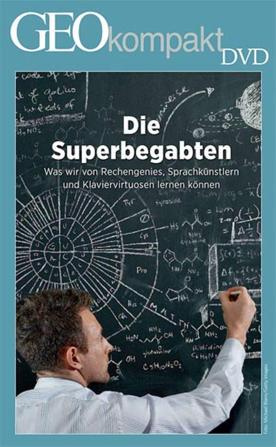 """GEOkompakt Nr. 28 """"Intelligenz, Begabung, Kreativität"""" ist auch mit DVD erhältlich"""