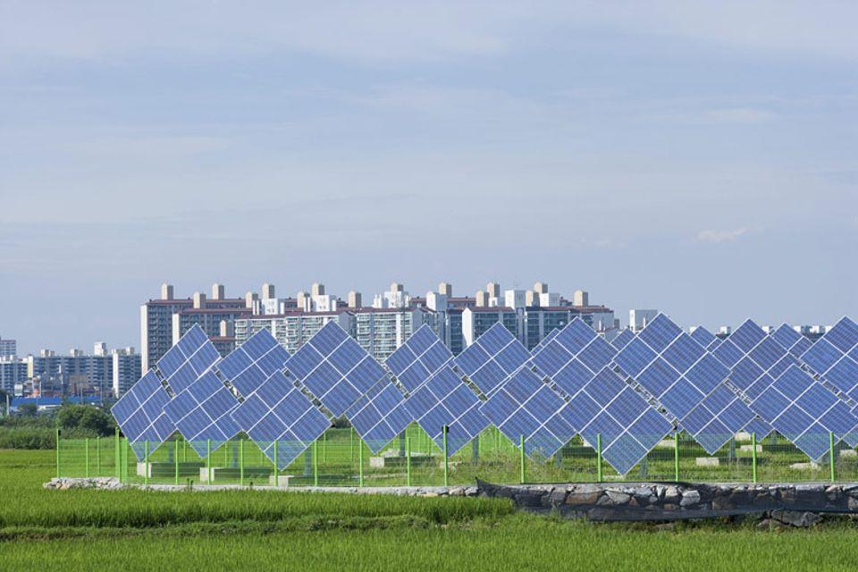 Green Growth: Erneuerbare Energien sind in Südkorea in den Blickpunkt gerückt. Besonderes Interesse gilt dabei auch der Solarenergie
