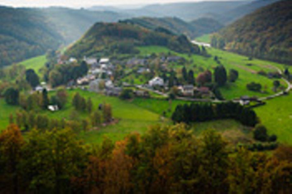 Herbstreise: Herbstreise: Ardennen in Belgien