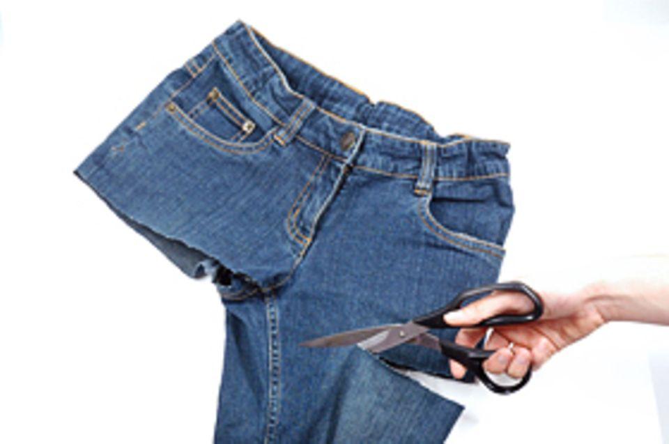 Basteltipp: Ab mit den Hosenbeinen!