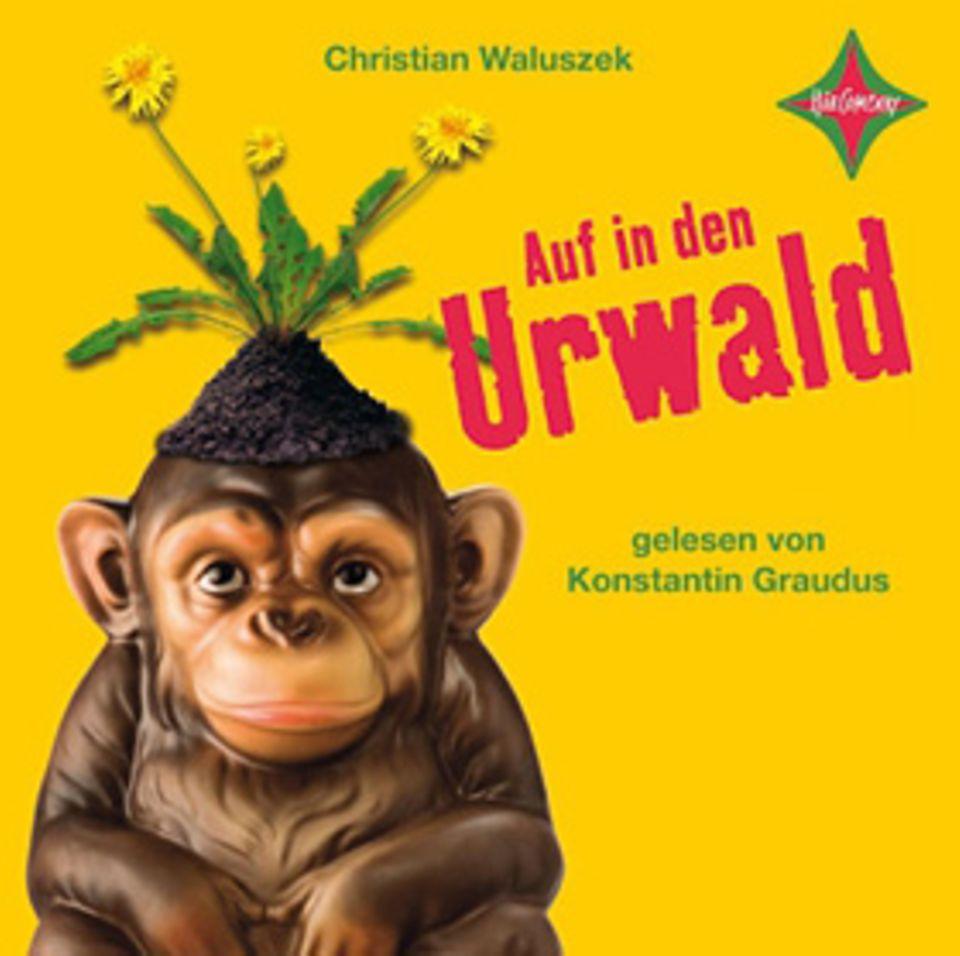 """Buchtipp: Das Cover zum Hörbuch """"Auf in den Urwald"""""""