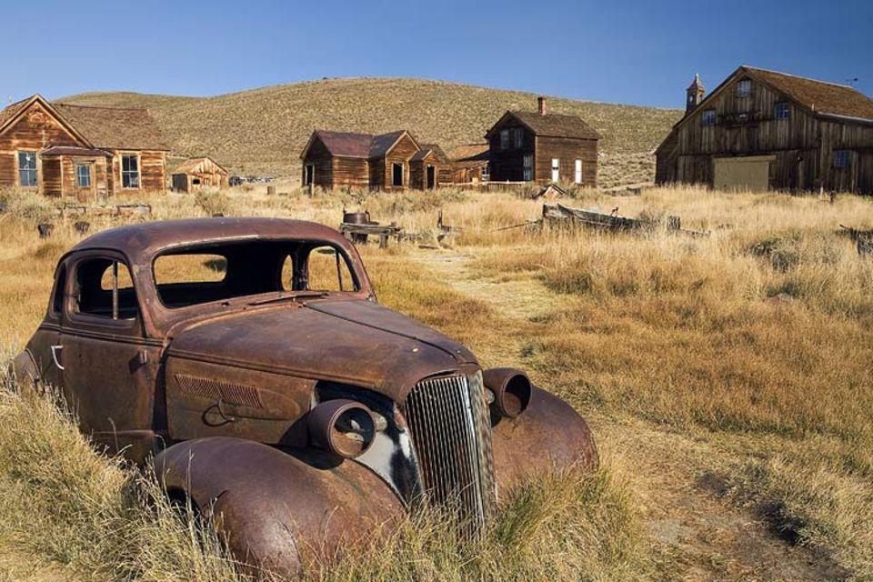 Geisterstädte: Eine Geisterstadt, wie sie im Buche steht: Bodie Town/USA