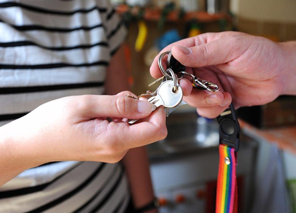Grün reisen: Begehrter Schlüssel: Privatwohnungen sind bei Reisenden eine beliebte Alternative zum Hotel