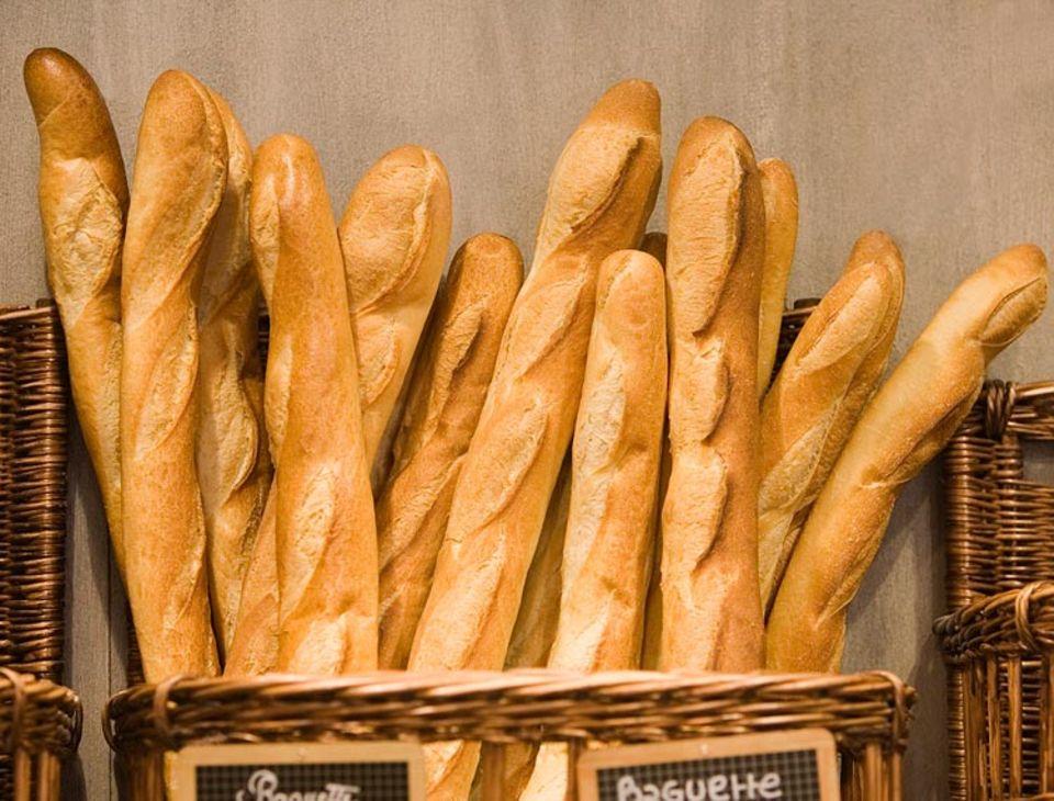 Baguette - Accessoire und Essen zugleich