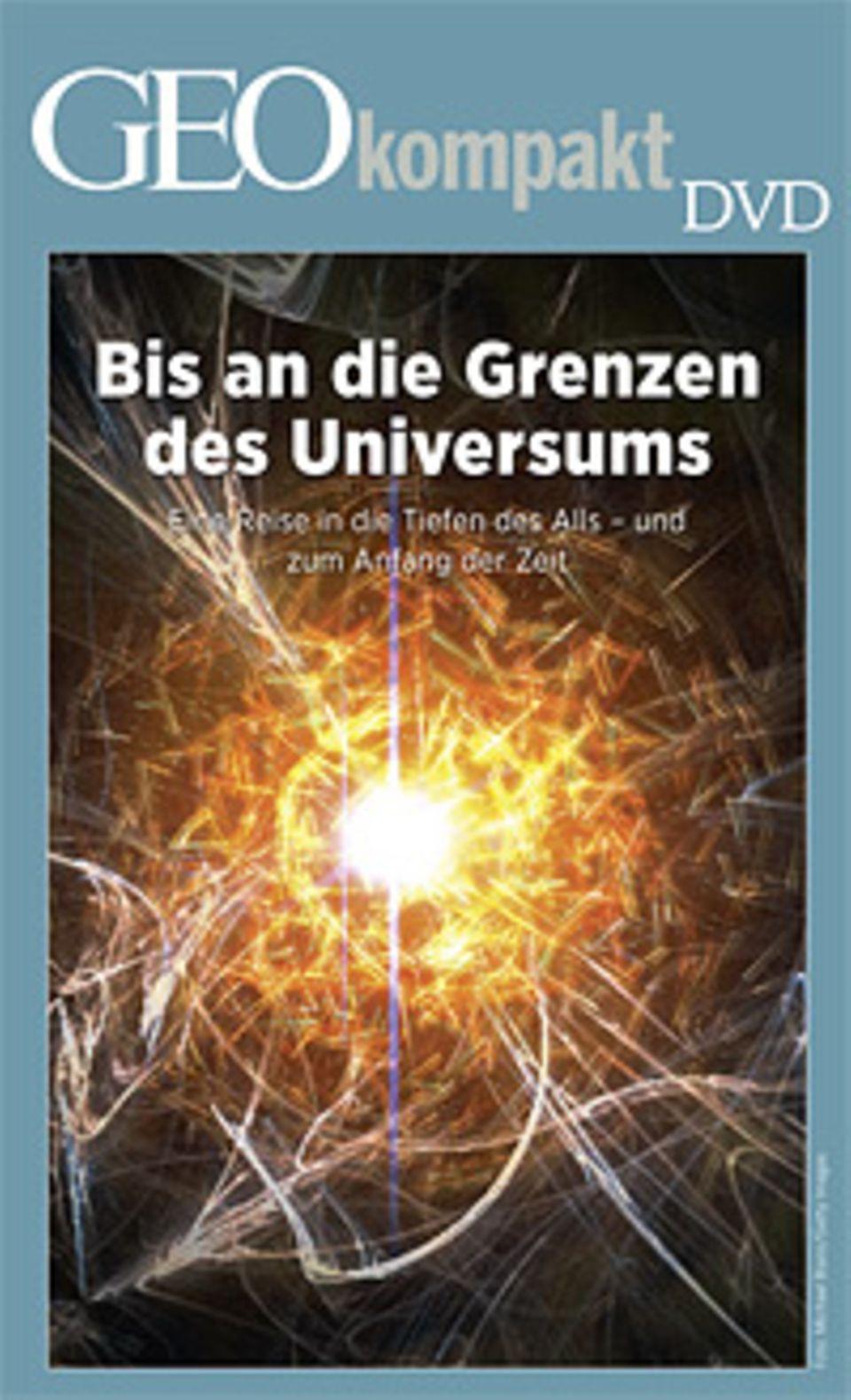 """GEOkompakt Nr. 29 """"Der Urknall"""" ist auch mit DVD erhältlich"""