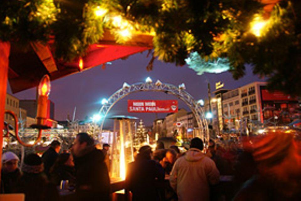Weihnachtsmärkte: Gleich an Hamburgs Repperbahn gibt es einen sündigen Weihnachtsmarkt