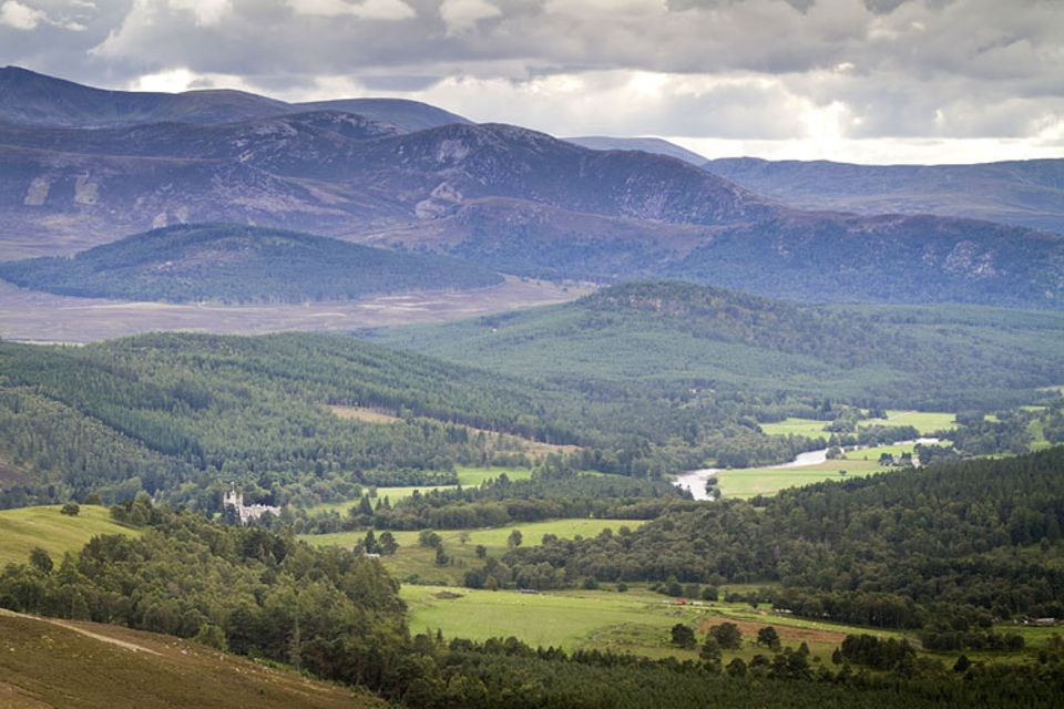 Die schottischen Highlands, Großbritanniens bergiger Norden