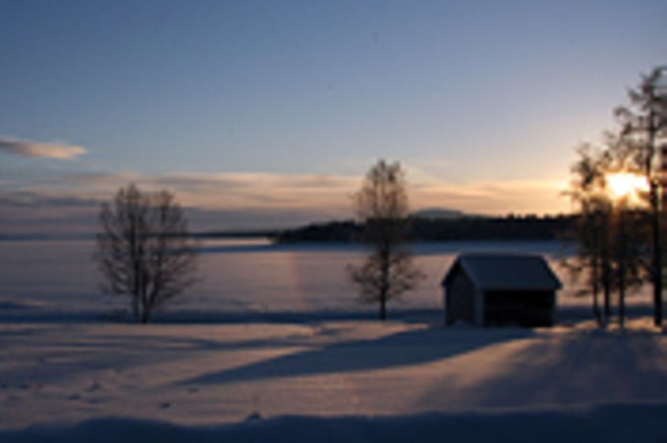 Lappland, Rushhour im hohen Norden