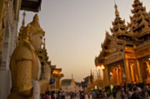Myanmar: Myanmar: Das Glück liegt auf der Straße