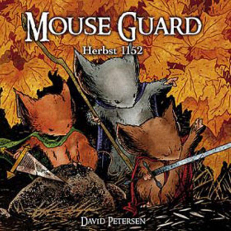 """Buchtipp: Kleine Helden, miese Schurken und ganz viel Abenteuer auf einmal: Das ist """"Mouse Guard"""""""