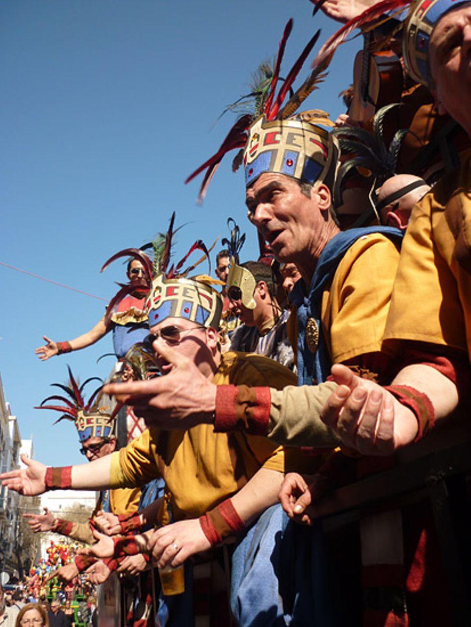 """Andalusien: Thematisch greift der """"Coro 2012"""" die Weltuntergangs-Prophezeihungen der Maya auf"""