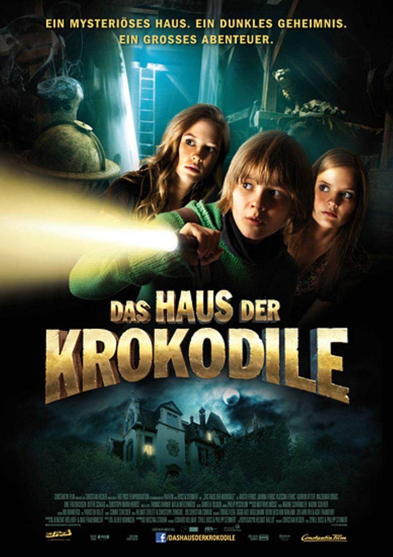 """Kinotipp: Das Filmplakat zum heutigen Kinotipp """"Das Haus der Krokodile"""""""