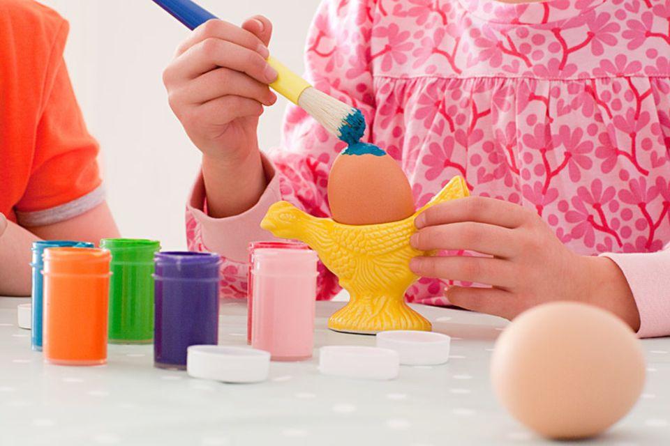 Ostern: Zu Ostern ist es Brauch, bunte Eier aufzuhängen
