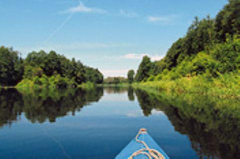 Deutschland: Brandenburg per Paddelboot