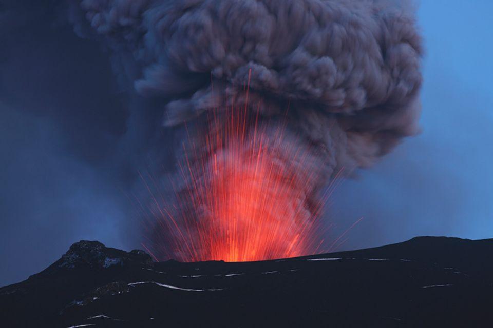 Natur: Der Vulkan