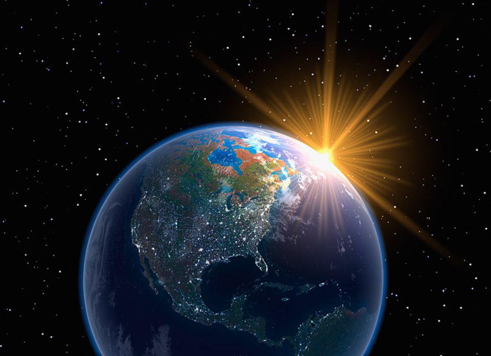 Die Erde ist mittlerweile schon rund 4,5 Milliarden Jahre alt