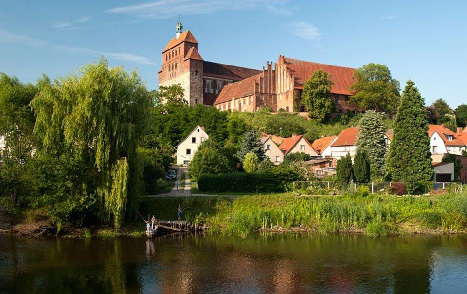 Der Dom St. Marien macht Havelberg zum wichtigen Stopp auf der Straße der Romanik