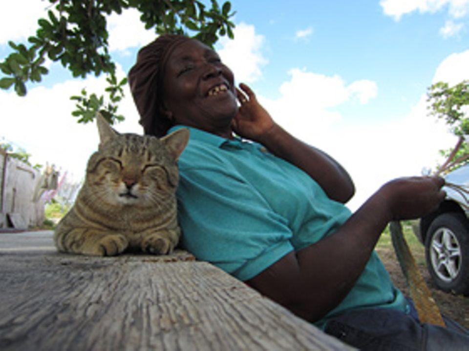 Bahama-Mama auf Cat-Island
