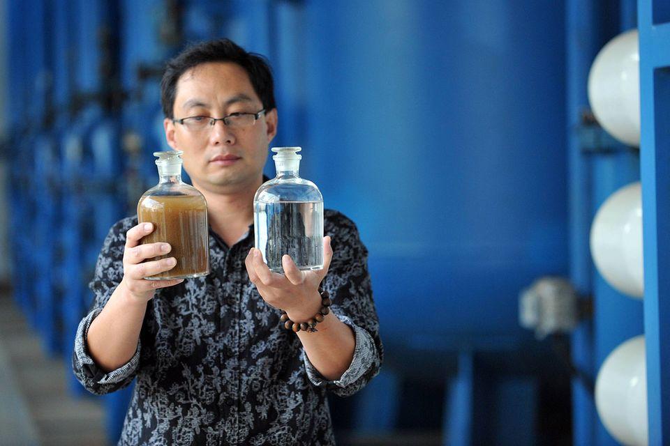 Meerwasserentsalzung: Meer - Salz = Hoffnung