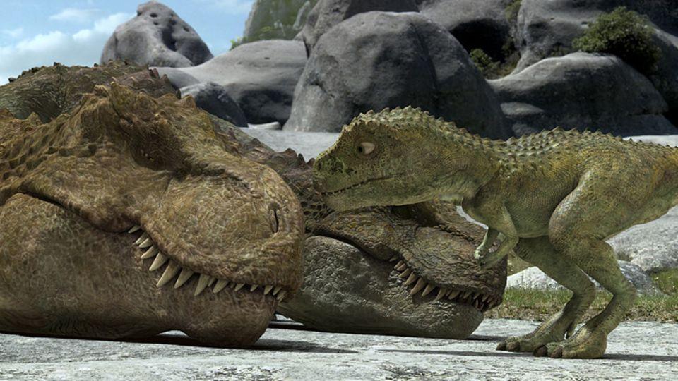 Der kleine Dinosaurier Speckles und seine großen Geschwister